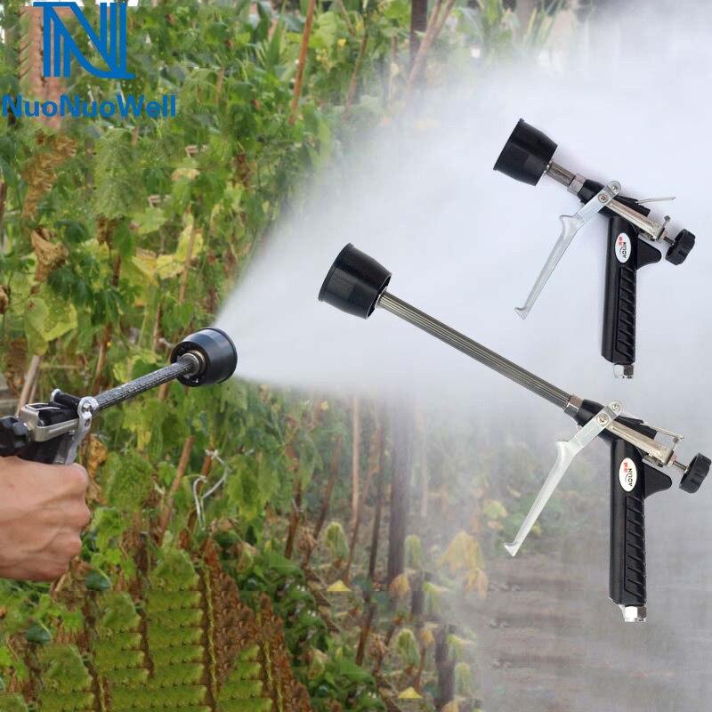 Landwirtschaft Spray Gun Power Sprayer Hochdruck Pestizide Wasser Pistole Einstellbare Zerstäubung Spritzpistole Feinen Nebel Auto Waschen