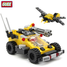 Compatible Legoingly Educational Building Blocks Fighter Tank Chariot Robot Aircraft Model Assemble Bricks Toy For Children Gift(China)