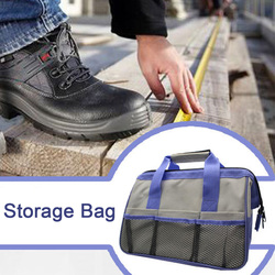 Repair Tool Portable Thicken Space Saving Dustproof Case Home Durable Canvas Fabric Wear Resistant Storage Bag Handheld