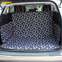 Cawayi canil pet portadores de assento do carro do cão capa tronco esteira capa protetor transporte para cães gatos perro autostoel hond