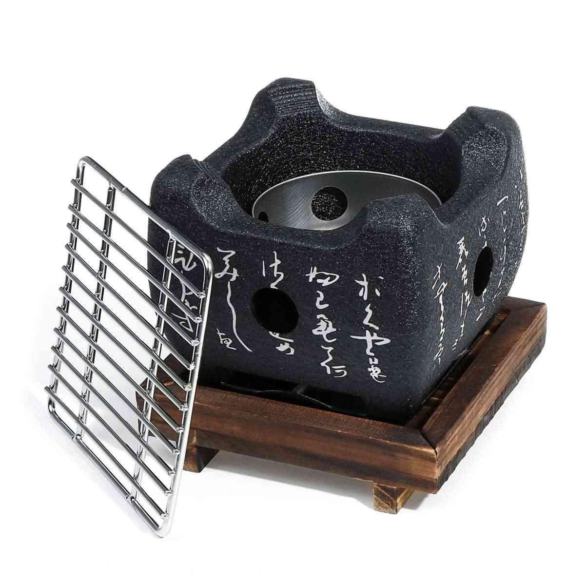 S/m/l ポータブル日本韓国バーベキューグリル食品カーボン炉バーベキューストーブ調理オーブンアルコールグリル家庭用バーベキューツール
