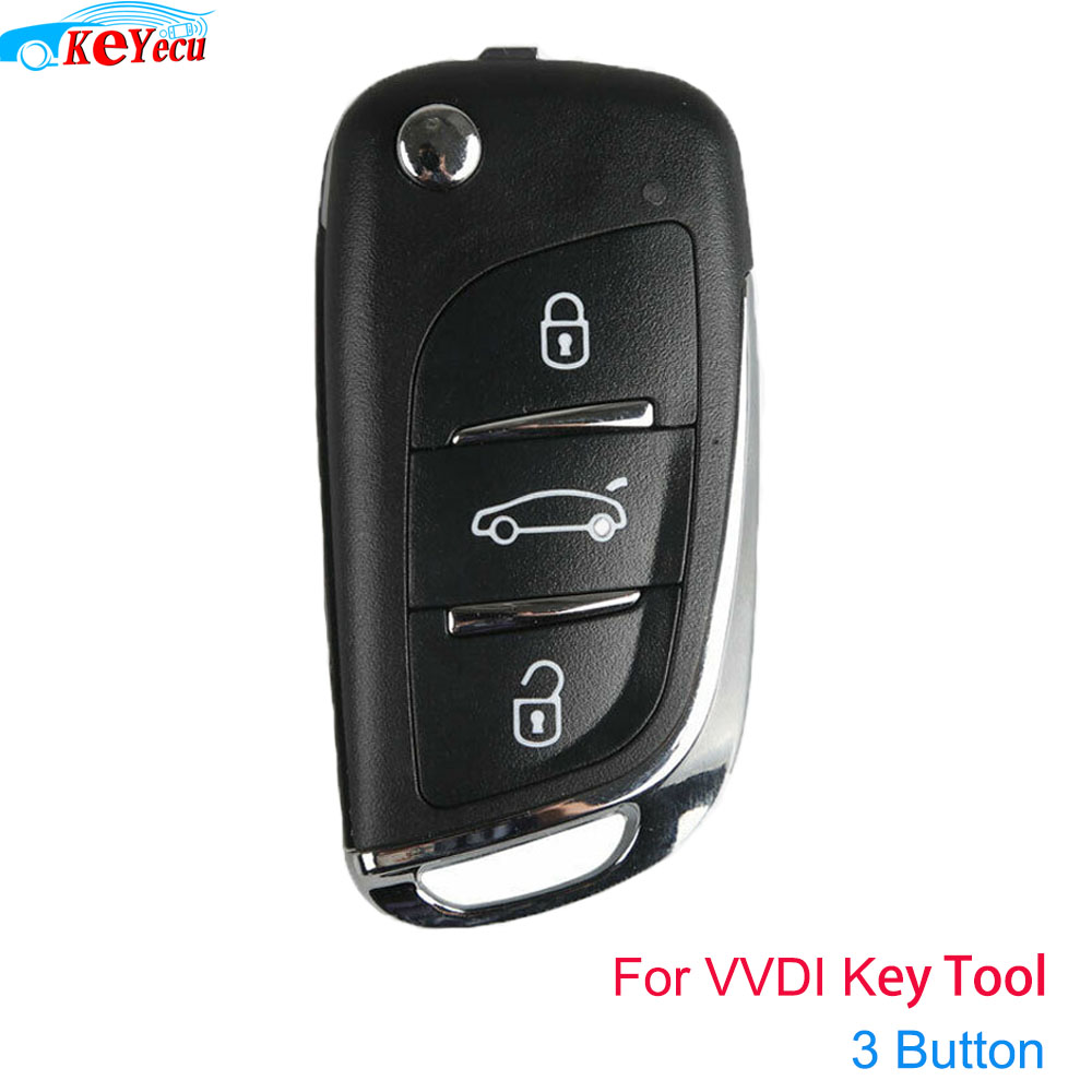 KEYECU Xhorse DS Estilo (Super Remoto) 3 Botão para VVDI VVDI Ferramenta Chave Remota Mini Key Tool, VVDI2 Supermodelo Máquina