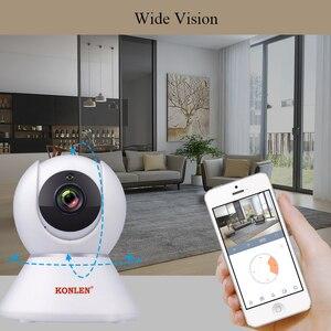 Image 3 - KONLEN Tuya 1080P WIFI Indoor IP Kamera PTZ HD Für Wireless Home Security Smart Leben APP Google Assistent Amazon alexa Unterstützung