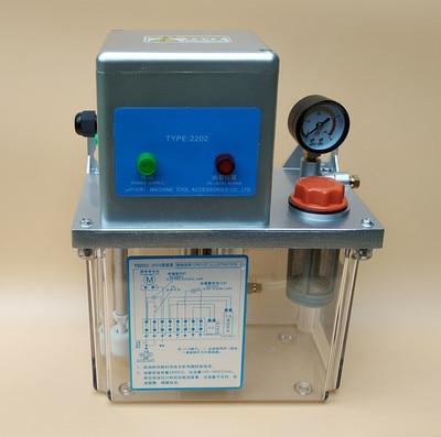 2L 220V AC Bomba de lubricación automática eléctrica Máquina de - Piezas para maquinas de carpinteria - foto 2