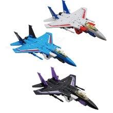 מטוס מצב טיסה צוות שינוי G1 סערה Flighter עיוות פעולה איור צעצוע
