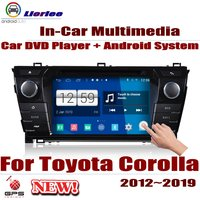 Car Android System RockChip PX5 1080P IPS LCD Screen For Toyota Corolla (E160) 2012~2019 DVD Player GPS Navigation