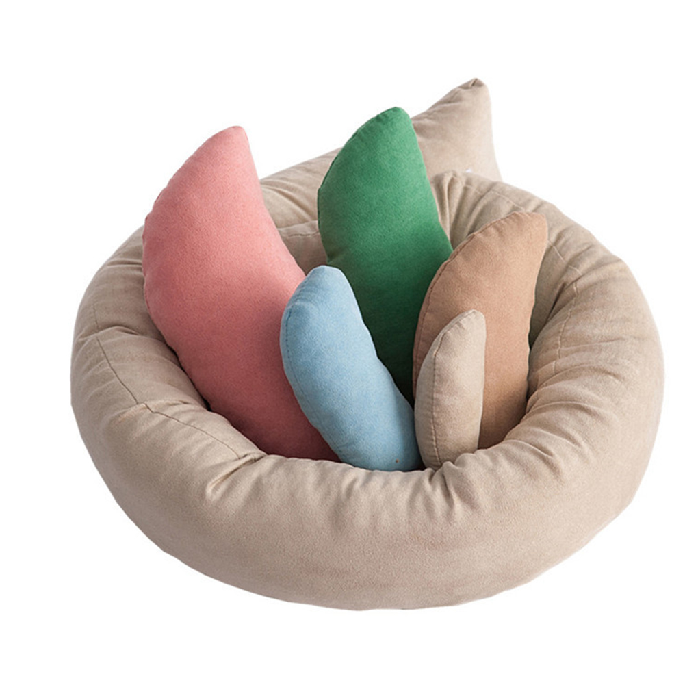 6PCS/Set Newborn Wedge Shaped Posing Pillow For Baby Photography Cushion Taking Photo Props Baby Cushion Positioner