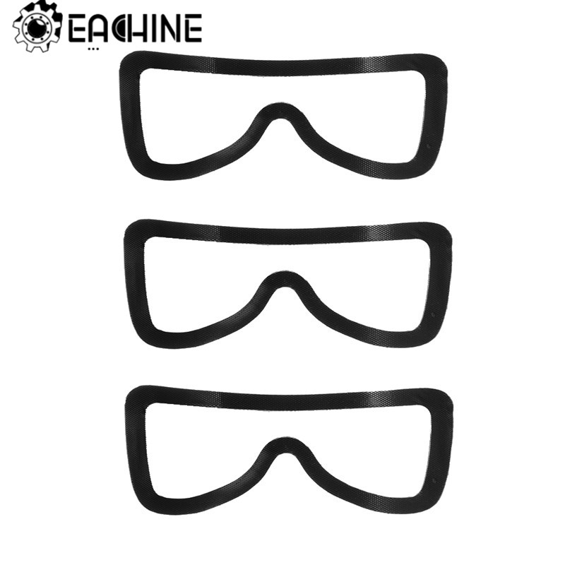 3 PCS Eachine EV100 FPV Goggles Face Plate Tape Magic Double-sided Adhesive Tape For RC Racing Drone Quadcopter Accs