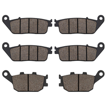 Motorcycle Front and Rear Brake Pads FOR HONDA 599 CBR600 CBR 600 F3 CB600F Hornet CB 600F CBF 600 CBF600 CB750 CBF 1000 CBF1000 стоимость