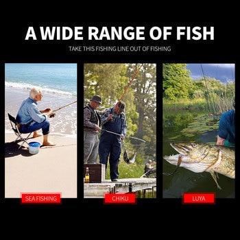 Awesome No1 Braided fishing line mix color spot line Fishing Lines cb5feb1b7314637725a2e7: 1000M|1500M|2000M|500M