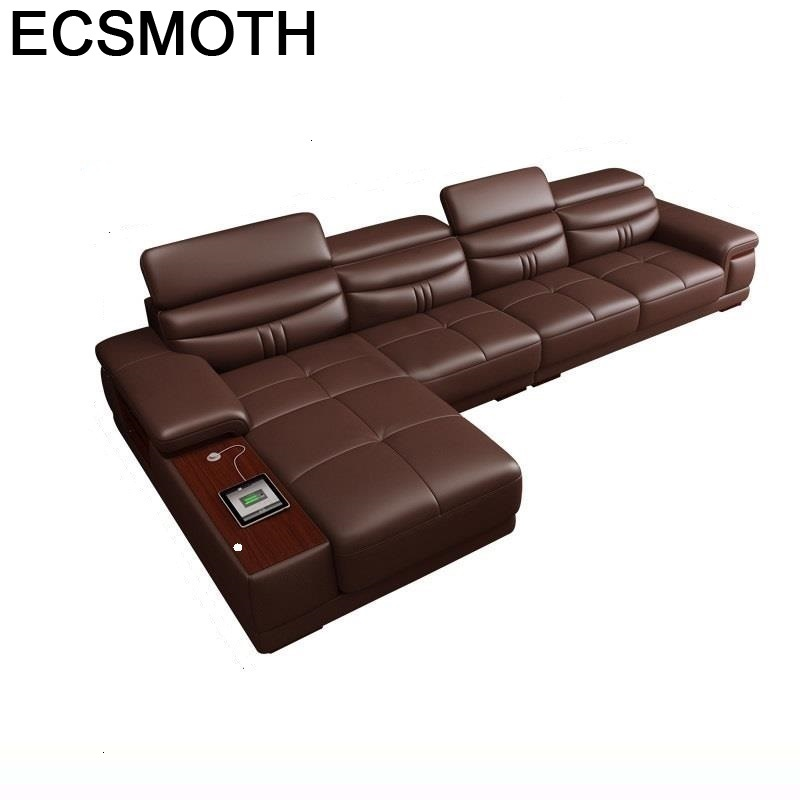Set Sectional Fotel Wypoczynkowy Armut Koltuk Meuble Maison Oturma Grubu Leather Furniture Mobilya Mueble De Sala Sofa image