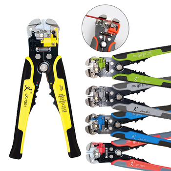PARON Automatic Wire Stripper Cable Cutter Wire Stripping Pliers Cutting Crimping Terminal Tool Peeling Hand Tools 0.2-6.0mm2
