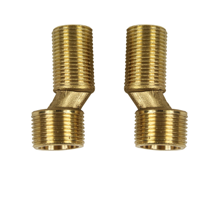Copper Tub Triple Tap Lengthen Curved Legs Accessories Eccentric Reducers Curved Legs Accessories Manufacturers Wholesale