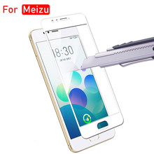 Protective Glass On For Meizu Maisie M5s M5c M3s Tempered Glas Case Meizy Maizu M 5s 5c 3s M5 5 C M3 3 S Screen Full Cover Film(China)