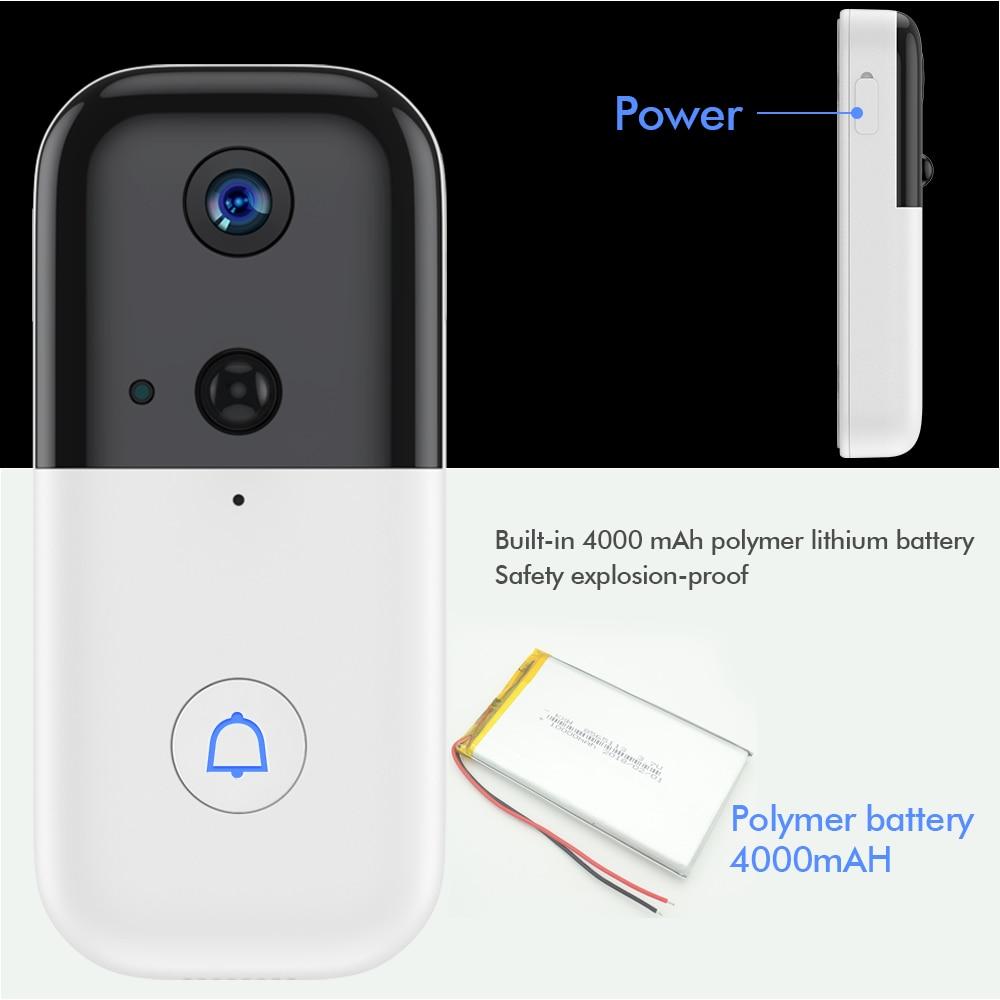 ²Ultimate SaleSDETER Doorbell-Intercom Video Wireless Wifi Night-Vision Rechargeable Home Securityä