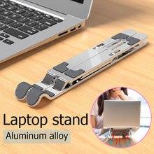YuBeter Giá Đỡ Laptop Gấp Gọn Hợp Kim Nhôm Chống Trơn Trượt Máy Tính Máy Tính Xách Tay Giá Đỡ Có Thể Điều Chỉnh Máy Tính Bảng Làm Mát Chân Đế Cho MacBook