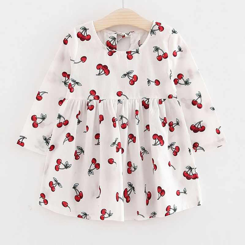 Spring Autumn Girl Dress Kids Children Gown Girls Long Sleeve Plaid Robe Soft Cotton Summer Princess Dresses Baby Girls Clothes