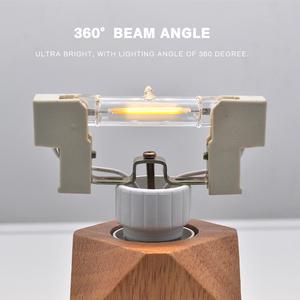 Image 5 - Lâmpada de vidro conduzida da espiga do tubo de r7s 78mm 8w 118mm 13w r7s lâmpada de milho j78 j118 substituir a luz de halogênio 50w 90w ac 220v 230v lampadas