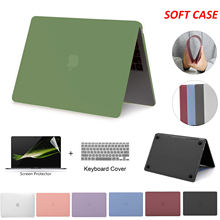 Мягкий чехол для Macbook Pro 13, чехол для ноутбука, чехол для Macbook Air 13 2020, чехол для M1 Chip Pro 13 Pro 16 дюймов, чехол 2020, 15 дюймов, аксессуары
