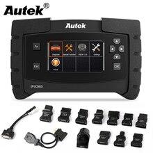Autek IFIX969 OBD2 Scanner Full System OBD 2 Car Diagnostic Tool ABS SRS EPB DPF Reset Multi Language ODB2 Automotive Scanner