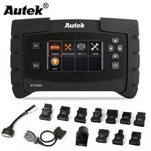 Autek ifix 969 OBD2 الماسح الضوئي نظام كامل OBD 2 سيارة أداة تشخيص ABS SRS EPB DPF إعادة تعيين متعدد اللغات ODB2 السيارات الماسح الضوئي