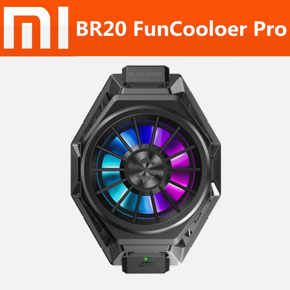 Stock BR20 Xiaomi Black Shark 3 Fun Cooler Pro liquid Cooling Fan Mi 10 Pro ROG Phone 2 iqoo neo Pro 3 Red Magic Black Shark 2(China)