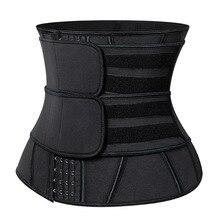 Women Sweat Neoprene Waist Trainer Corset Trimmer Belt Body Shaper Slimming Compression Waist Cinchers