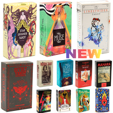 Tarot del Fuego Cards Tarot Deck Oracles E-Guidebook Game Linestrider Dreams Toy Divination Star Spinner Muse Hoodoo Occult Ride