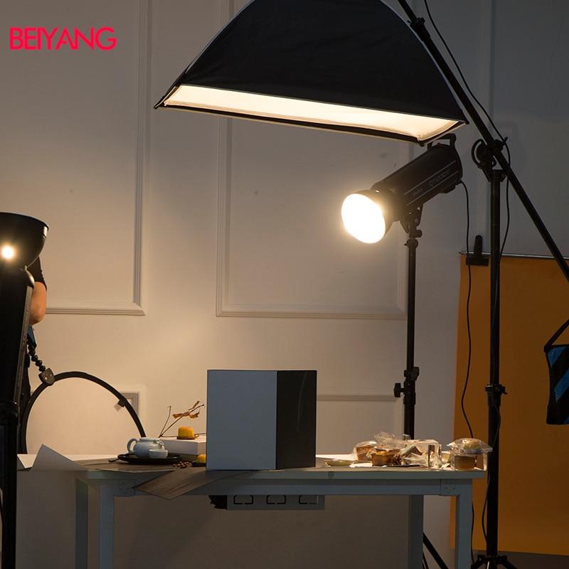 מוצרי טיפוח ובריאות מצלמה 58 * 42CM אביזר צילום מתקפל קרטון לבן שחור כסף רפלקטור ספוג נייר מחזיר אור עבה (5)