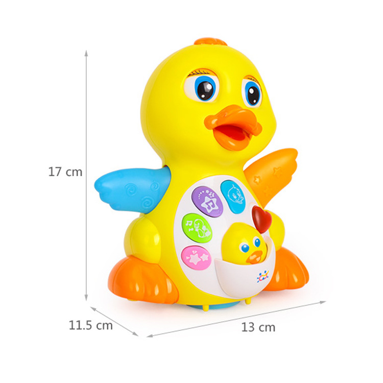 Department Of Music 808eq Sway Big Yellow Duck Infant Baby Electric Toys Little Duck Will Dancing Singing 1-3 Years Old