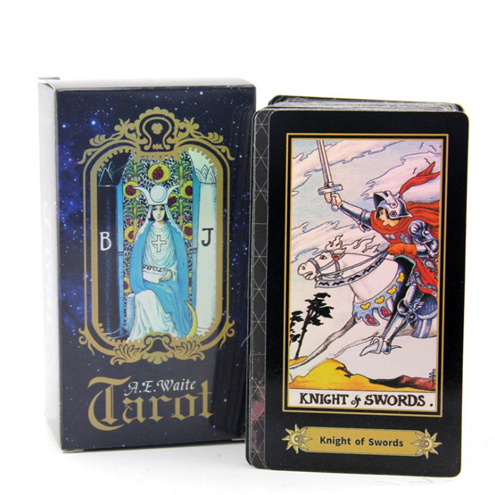 Exquisite Pattern Board Game Card Tarot Card Factory Made High Quality Smith Tarot Deck Board Game Cards