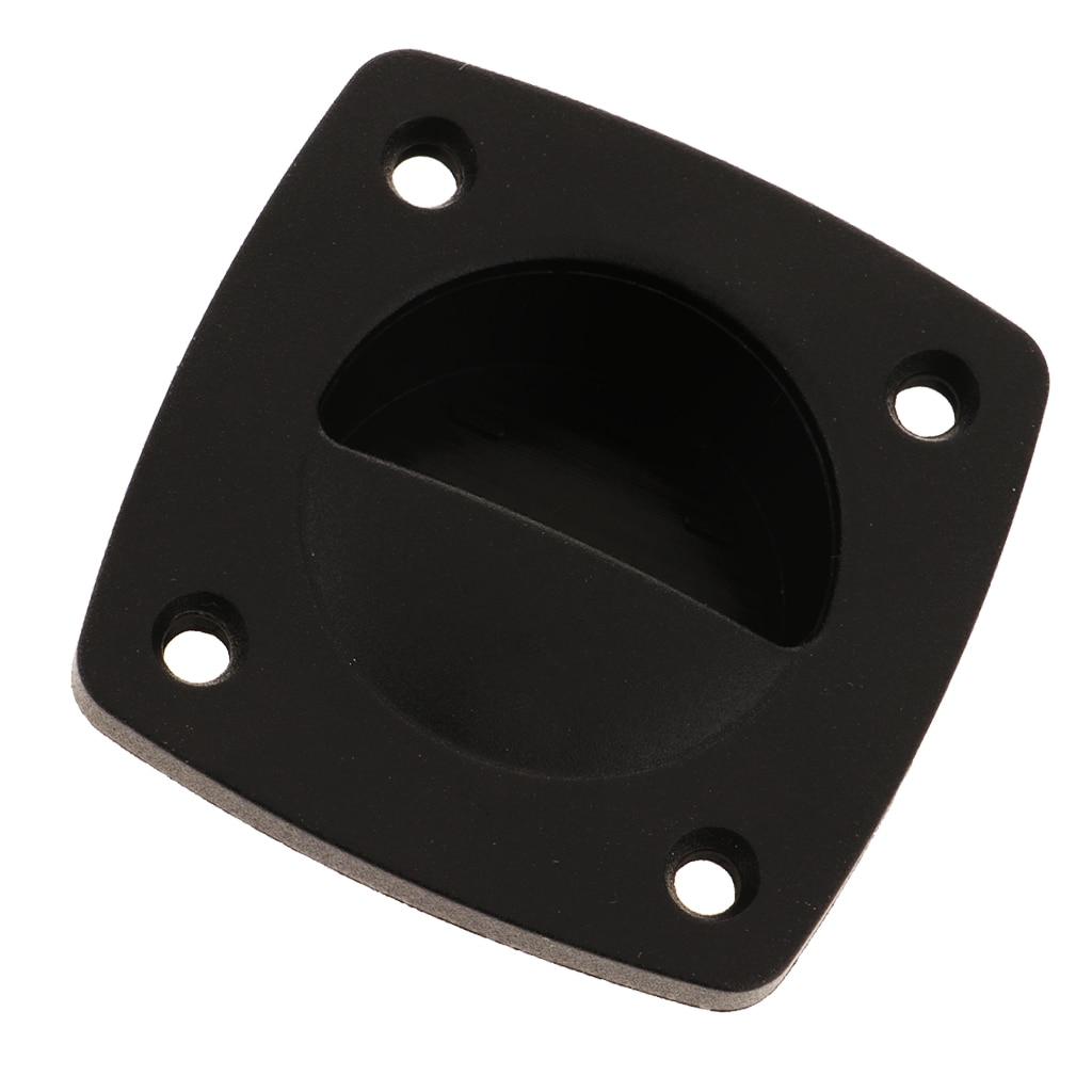 Plastic Recessed Flush Sliding Door Handle Pull Square 58 X 58mm