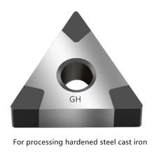 CBN הכנס TNMG TNGA160404 Tnmg 160408 Cnmg120404 מתכת הפיכת כלי מחרטת חותך עבור עיבוד מוקשה פלדה יצוק ברזל