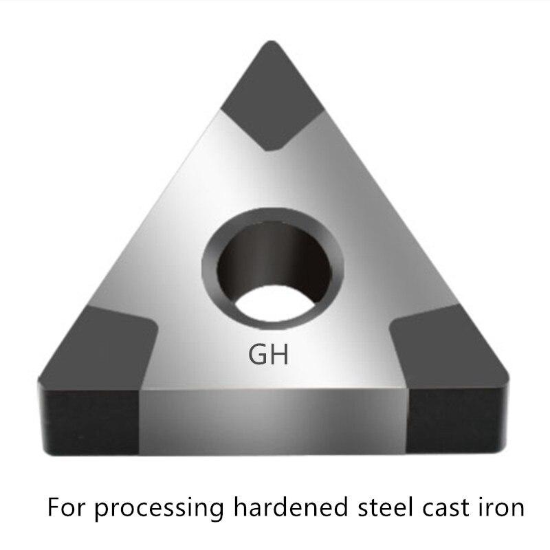 CBN Insert TNMG TNGA160404 Tnmg 160408 Cnmg120404 Metal Turning Tools Lathe Cutter For Processing Hardened Steel Cast Iron