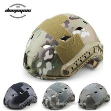 цена на New Military Tactical Helmets Army Airsoft Shooting Paintball FAST Helmet Cover OutdoorCS Wargame Combat Helmet