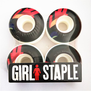 Image 3 - USA BRAND PRO Free Shipping 51mm  55mm GIRL Skateboard Wheels Street Skates Wheels PU Rodas for Shape Skate
