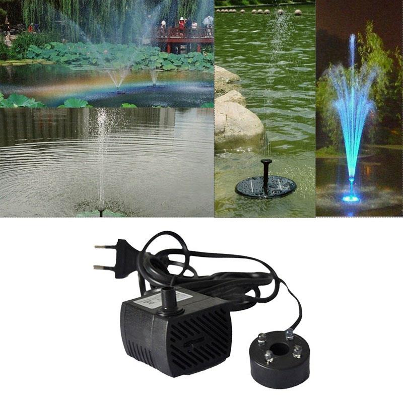 Fountain Pool Lamp Water Pump Party Fashion LED Pool Lights Fountain Pool Lights Electric Submersible 4LED Wedding Pond Fish