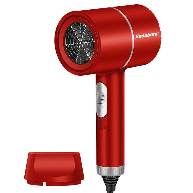 Secador de pelo profesional 8000 fuerte viento luz azul anión secador de pelo ajuste de temperatura secador de pelo herramienta de secado secador de pelo