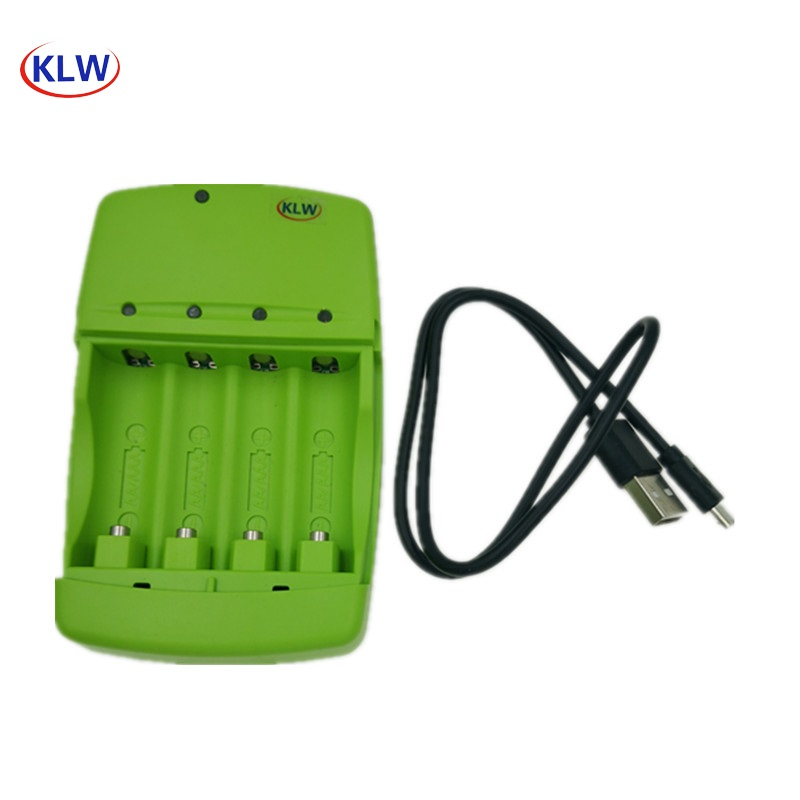 LED Indicator USB Smart Battery Charger For LR03  AA LR6 AAA Alkaline 1.5V Rechargeable Battery For Toy  Intelligent Charger