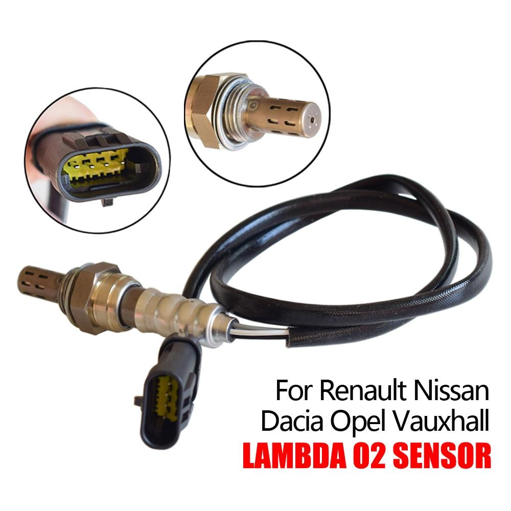 Sensor de oxigênio o2 para renault avantime clio 2 3 espace grand kangoo laguna megane modus dacia nissan opel vauxhall 8200437489