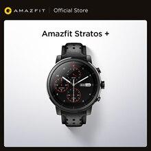Amazfit-reloj inteligente Stratos + Professional, de cuero genuino, regalo de correa, Sapphire 2S, Android iOS para teléfono, novedad de 2019