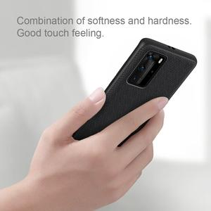 Image 4 - Case for Huawei P40 P40 Pro Case NILLKIN Textured Hard PC Soft TPU Luxury Non Slip Full Cover Phone Cases for Huawei P40 Pro Bag