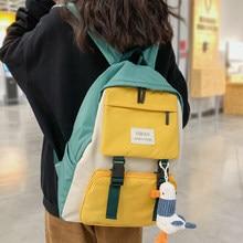 Women Harajuku Cute Backpack Nylon Student School Bag Laptop Ladies Kawaii Backpacks Girl Fashion Book Bags Female Trendy Travel