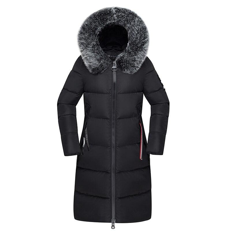 Women/'s Winter Thick Coat Jacket Hooded Coats Outwear Black