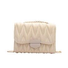 Женские сумки 2020 модная роскошная белая маленькая Складная