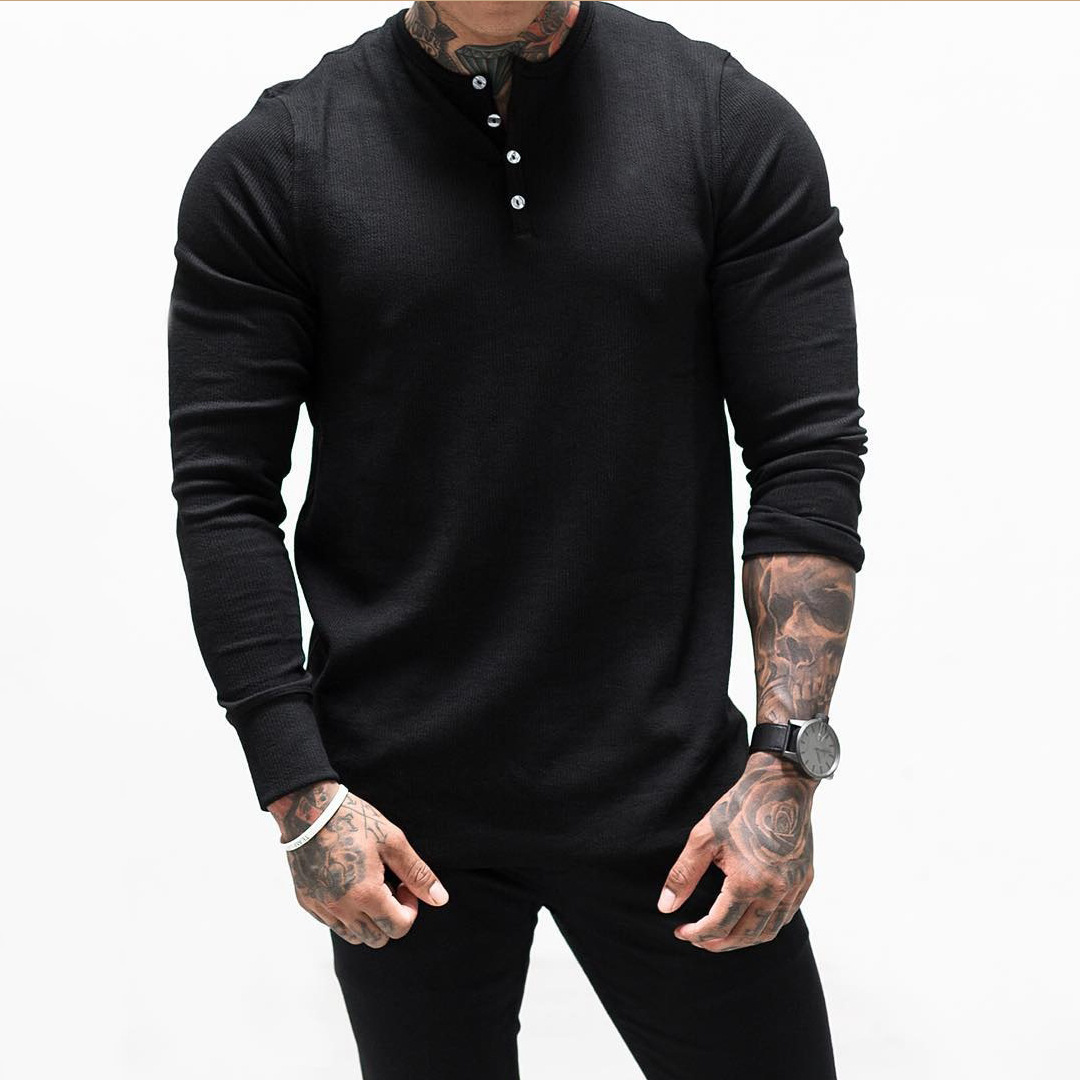Men's Sweater Thin Wool Long Sleeve Stand Collar Pullover Sweaters Men Fashion Casual Business Bottoming Shirts