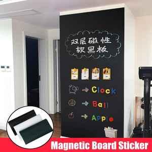 Magnetic Wallpaper Blackboard-Stickers Whiteboard Office-Presentation-Boards Children
