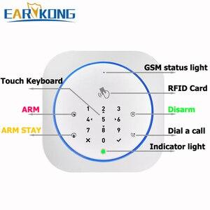Image 5 - GSM Alarm System Safe RFID APP Touch Keyboard 433MHz Door Open & Closed Sensor Alarm Infrared PIR animal immune motion detector