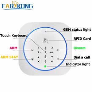 Image 5 - Gsm 경보 시스템 안전 rfid app 터치 키보드 433 mhz 문 열기 및 폐쇄 센서 알람 적외선 pir 동물 면역 모션 탐지기