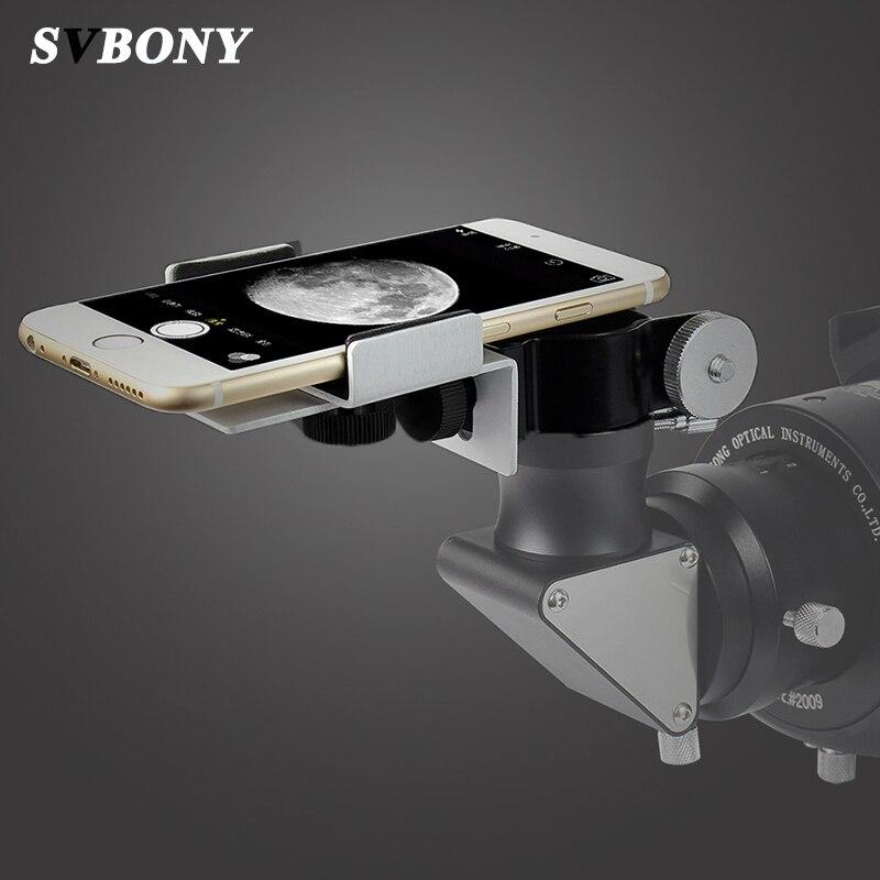 SVBONY 24-38mm Universal Mobile Phone Holder Adjustable Adapter Installation Microscope Observation Range Telescope Clip Bracket